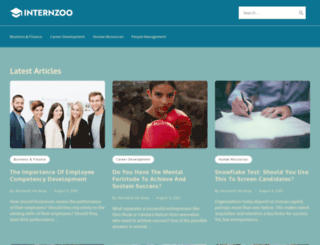 internzoo.com screenshot