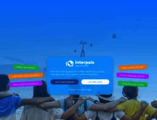 interpals.net screenshot