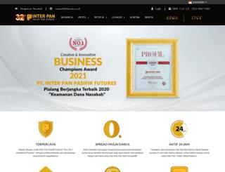 interpanpasifikfutures.com screenshot