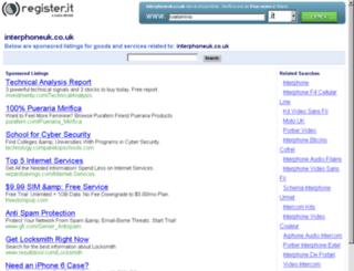 interphoneuk.co.uk screenshot