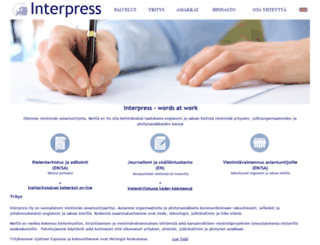 interpress.fi screenshot