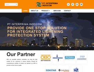 interprima.co.id screenshot