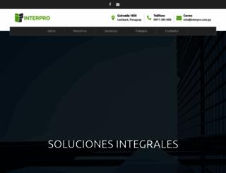 interpro.com.py screenshot