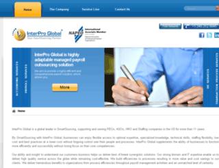 interproindia.com screenshot