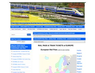 interrailticket.com screenshot