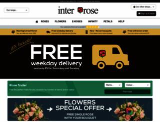 interrose.co.uk screenshot