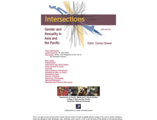 intersections.anu.edu.au screenshot