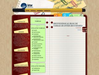 intersecundaria.blogspot.com screenshot