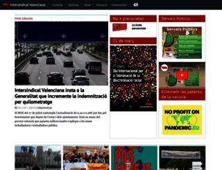 intersindical.org screenshot