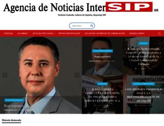 intersip.org screenshot