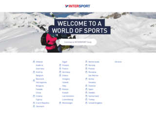 intersport.com screenshot