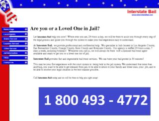 interstatebail.com screenshot