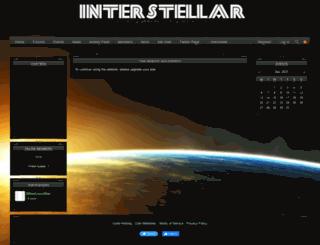 interstellarinc.iclanwebsites.com screenshot