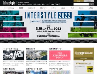 interstyle.jp screenshot