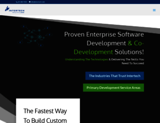 intertech.com screenshot
