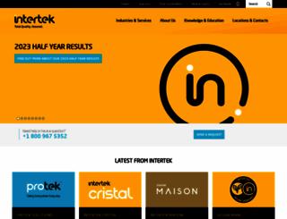 intertek.com screenshot