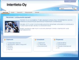 intertieto.fi screenshot