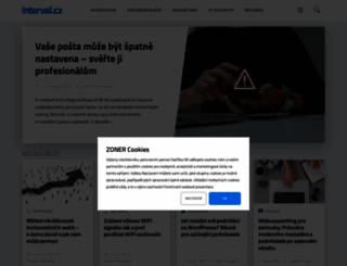 interval.cz screenshot