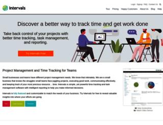 intervalsonline.com screenshot