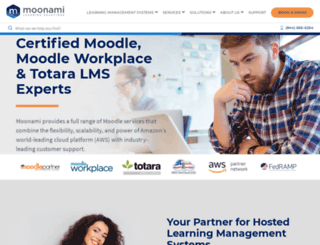 intervarsity.moonami.com screenshot