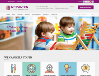 intervention.com.pk screenshot