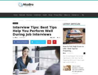 interview.tips screenshot
