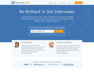 interviewgold.com screenshot