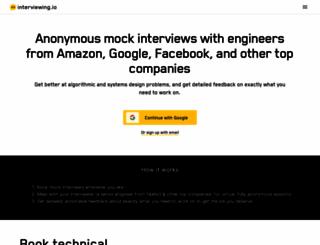 interviewing.io screenshot