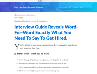 interviewquestionsandanswers.biz screenshot