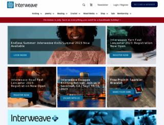 interweave.com screenshot
