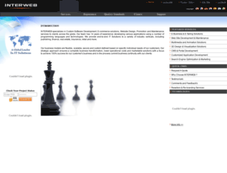 interweb.co.in screenshot