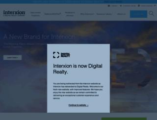 interxion.com screenshot