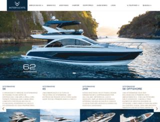 interyachts.com.br screenshot