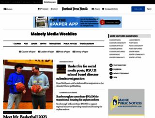 inthecourier.com screenshot