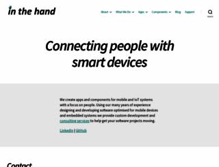 inthehand.com screenshot