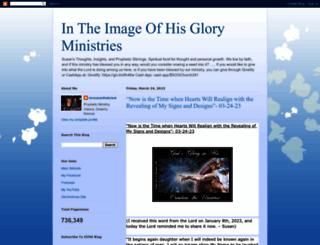 intheimageofhisgloryministries.blogspot.com screenshot