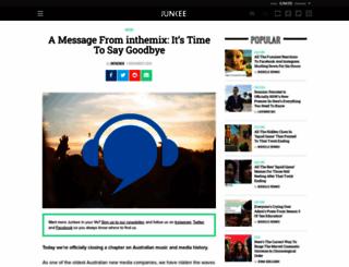 inthemix.com.au screenshot