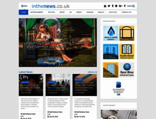inthenews.co.uk screenshot