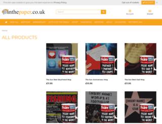 inthepaper.co.uk screenshot