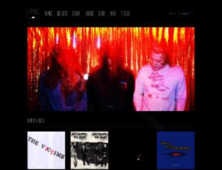 intheredrecords.com screenshot