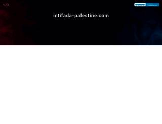 intifada-palestine.com screenshot