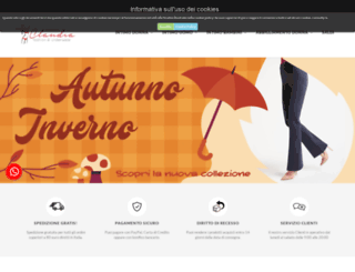 intimoclaudia.com screenshot