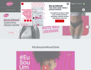 intimus.com.br screenshot