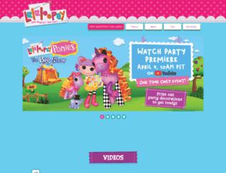 intl.lalaloopsy.com screenshot