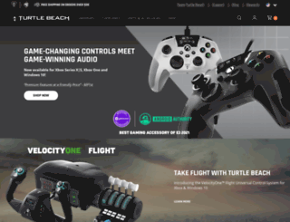 intl.turtlebeach.com screenshot
