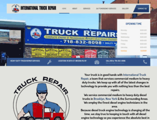 intltruckstop.com screenshot