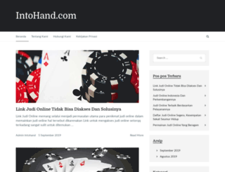 intohand.com screenshot