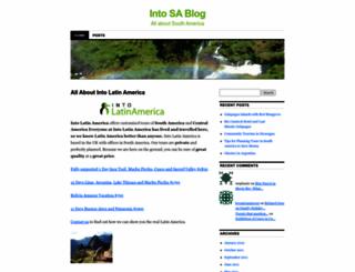 intosouthamerica.wordpress.com screenshot