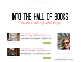intothehallofbooks.com screenshot