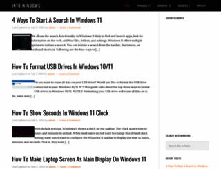 intowindows.com screenshot
